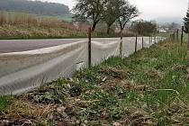 Zábrany podél silnic budou zachytávat na jaře migrující obojživelníky.