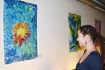 SVĚTLANKA vystavuje obrazy ve svitavské Kavárně Oskara Schindlera. Uživatelé centra denních služeb zde představují autorská díla malovaná technikou, které se říká  enkaustika. Jsou tedy  tvořené  horkým voskem. Unikátní obrazy jsou k vidění do 2. ledna.