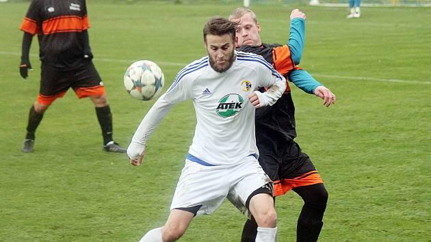 Výkon hráčů Slovanu Moravská Třebová šel v průběhu utkání výrazně nahoru.