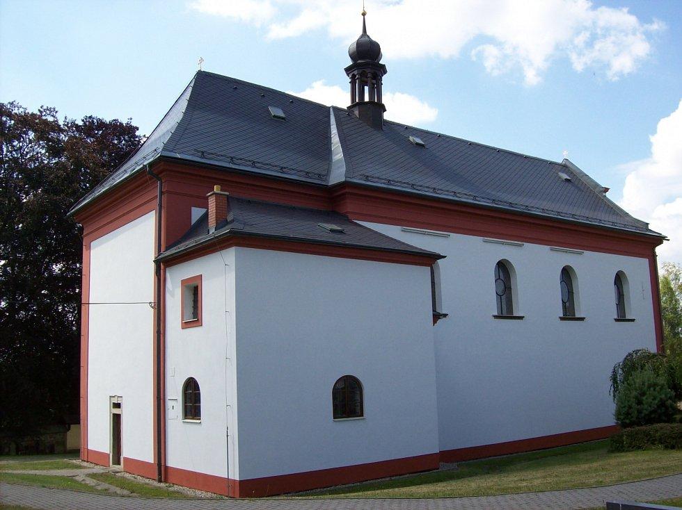 Kostel sv. Máří Magdaleny.