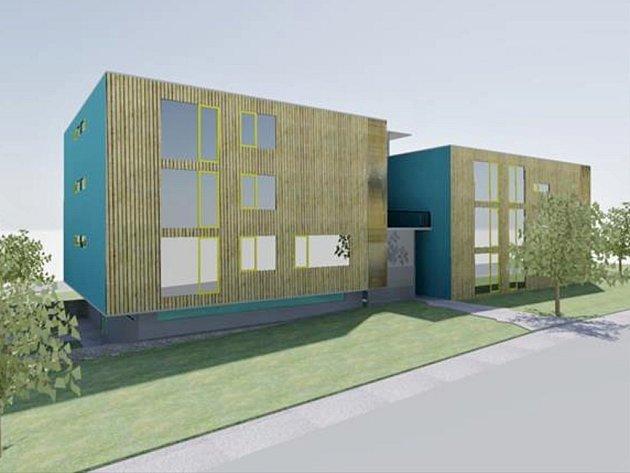 Nové bytové domy na Bezručově ulici v Poličce budou mít moderní podobu. Repro: policka.org