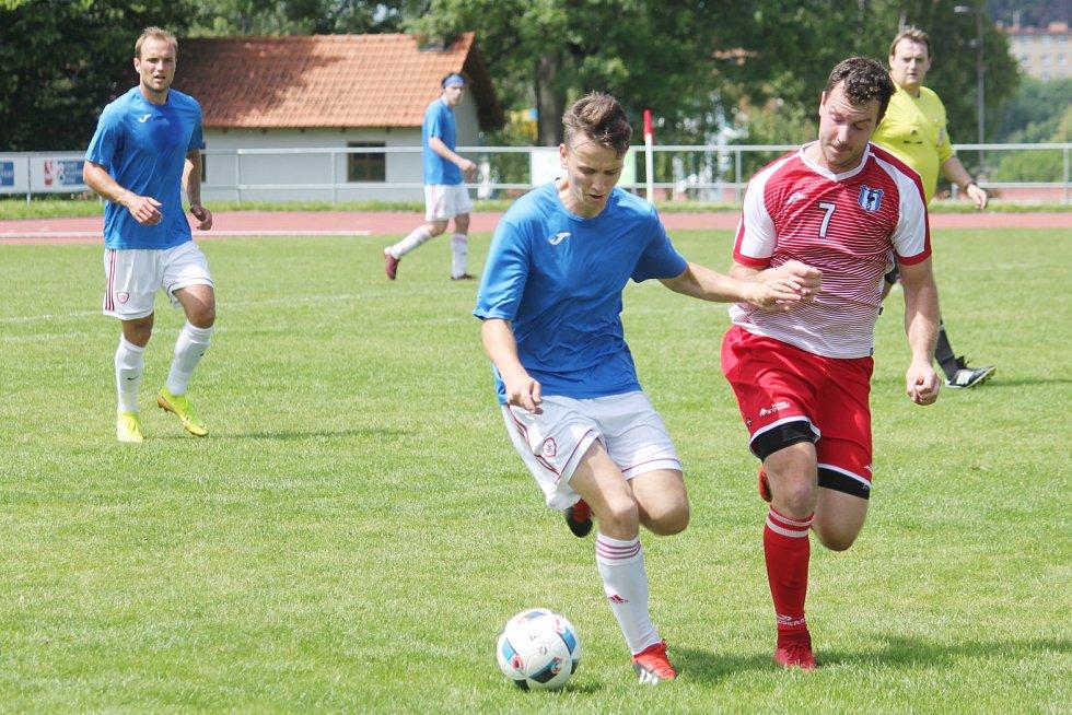 Jiskra Litomyšl vs. FK Proseč.