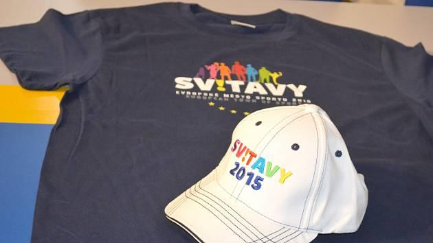 Trička a kšiltovky startují kampaň na oslavu titulu Evropského města sportu, který vloni získaly Svitavy.