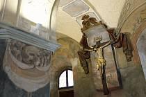 Prostor Očistcové kaple v chrámu Nalezení sv. Kříže v Litomyšli. Autor: archiv Zámecké návrší