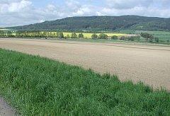 Pozemky Oskara Hochwalda u Jaroměřic, které připadly státu.