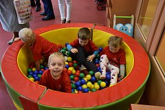 Slavnostní otevření nové školky v Dolním Újezdu.
