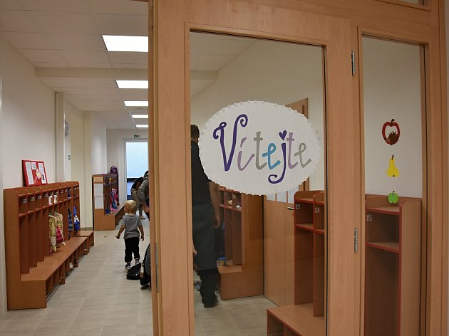 Dolní Újezd otevřel novou školku.