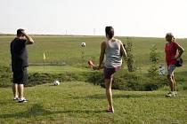 Fotbalgolf v Litomyšli