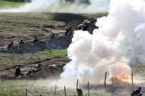 Historická bitva v Mladějově 2016.