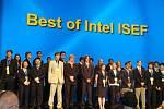 Studenti na mezinárodní soutěži Intel International Science and Engineering Fair,která se konala USA.