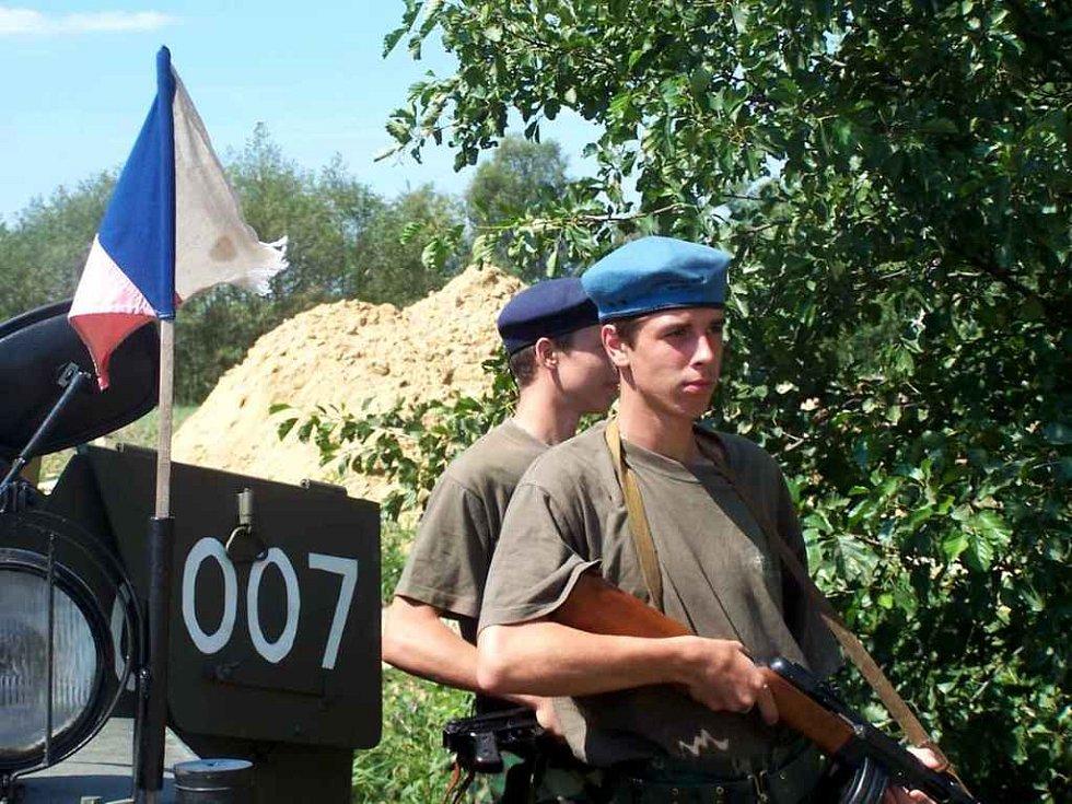 V Opatovci na Johanově pláži se již potřetí sešli vojenští veteráni.