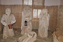 Vánoční výstava v Dolním Újezdu.