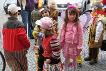 Děti ze speciální školky oslavily svůj svátek.