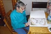 Ludmila Tomanová z Dlouhé Loučky oslavila prvního listopadu devadesátiny.