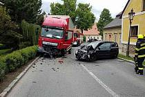 HASIČI zasahovali v úterý odpoledne v Litomyšli u dopravní nehod.