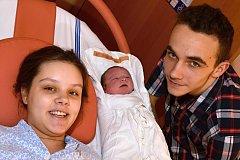 ADÉLA DOLANSKÁ. Narodila se 25. prosince Leoně a Jakubovi z Moravské Třebové. Měřila 47 centimetrů a vážila 3,2 kilogramu.