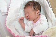 ADÉLA HÁPOVÁ. Narodila se 23. května Evě Burešové a Ondřeji Hápovi z Litomyšle. Vážila 3,51 kilogramu.