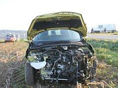 Nehoda nedaleko Jevíčka.