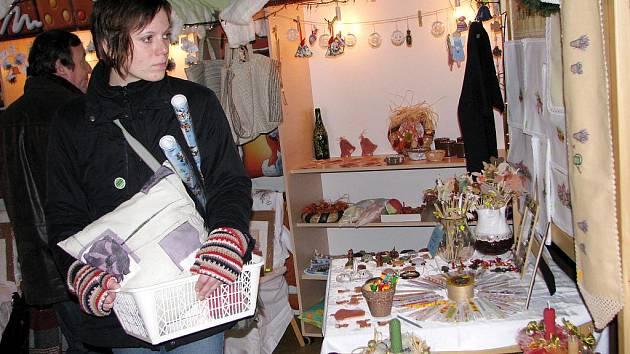 Vánoční koncert spojený s výstavou výrobků klientů Domova na rozcestí ve Svitavách.