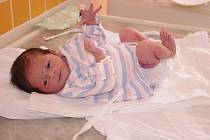 ADÉLA MACHOVÁ. Manželé Jana a Pavel Machovi z Korouhve se od pondělí 26. dubna 19.36 hodin radují z dcery. Vážila 3,12 kilogramu a měřila půl metru. Tatínek na porodním sále nechyběl.