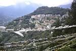 Pohled na město Gangtok.