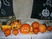 Halloweenská zábava v Baníně.