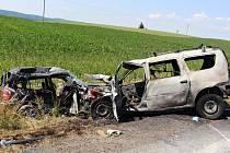 Tragické nehodě u Opatova nemohla řidička zabránit. Podle soudního znalce bylo její auto neovladatelné.