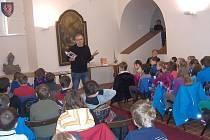 MILOŠ KRATOCHVÍL besedoval s moravskotřebovskými školáky.