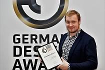 Marek Votroubek z Litomyšle je vynálezce nejtišší sekačky na světě