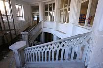 Interiér bývalé dětské nemocnice v Moravské Třebové.