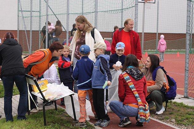 Litomyšlská nemocnice uspořádala pro děti zaměstnanců zábavně-sportovní dopoledne.