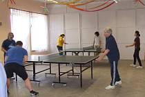 Turnaj ve stolním tenise v Baníně.