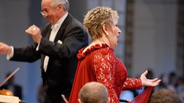 Operní diva Eva Urbanová zahájila operní festival Smetanova Litomyšl.