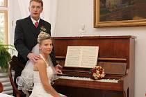 Svatba poslankyně Květy Končické.