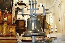 Nový svitavský zvon Engelmar bude umístěn na věž nejstaršího svitavského kostela  svatého Jiljíarie