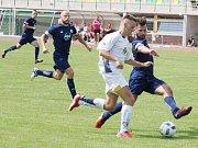 Z utkání TJ Jiskra Litomyšl vs. SKP Slovan Moravská Třebová.