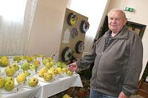 NA VÝSTAVĚ v Koclířově ukázali pěstitelé opravdu krásné ovoce a další výpěstky.