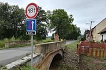 V pondělí 26. srpna začne oprava mostu přes řeku Třebůvku při vjezdu do místní části Boršov.