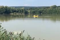 Rybník Rosnička u Svitav.