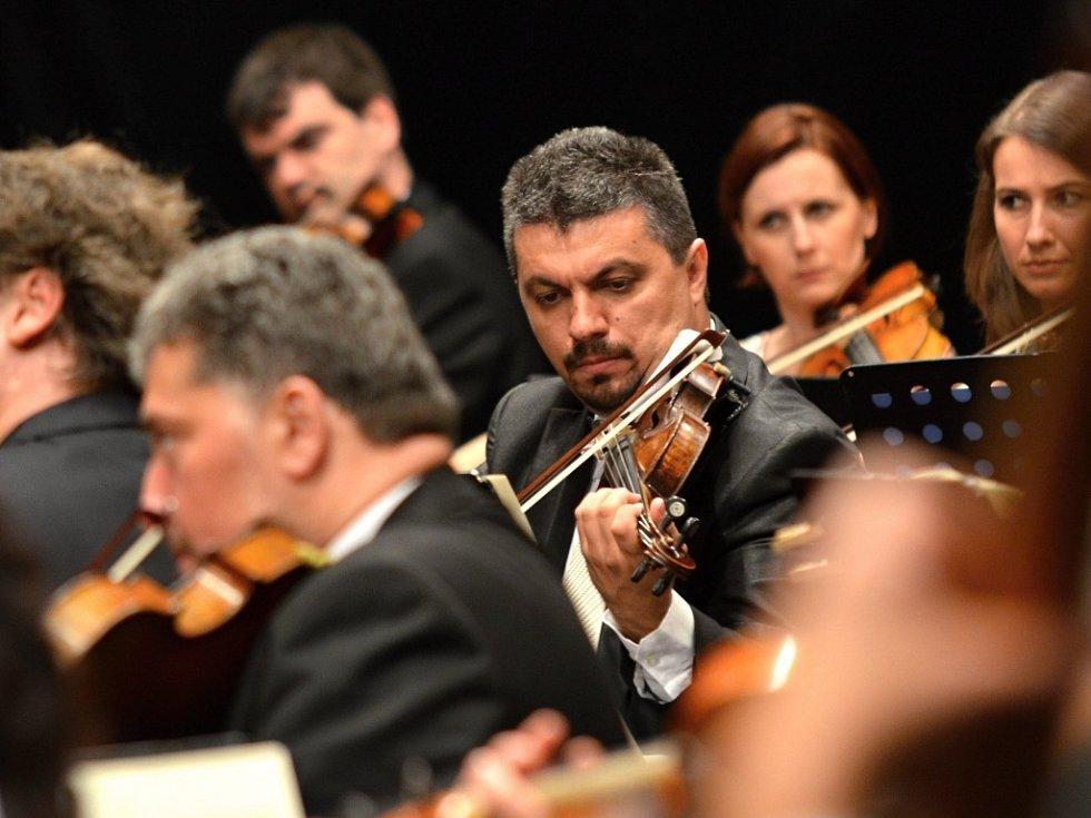 Závěrečný koncert festivalu Smetanova Litomyšl.