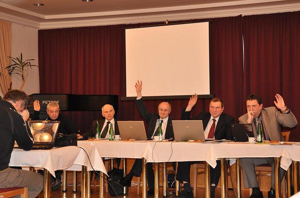 Jednání zastupitelstva v Moravské Třebové.