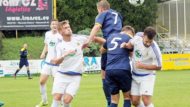 Moravskotřebovský Slovan nasázel do choceňské svatyně pět gólů.