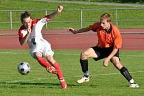 Rohový kop v závěru zápasu Heřmanova Městce připravil Litomyšl o tři body.