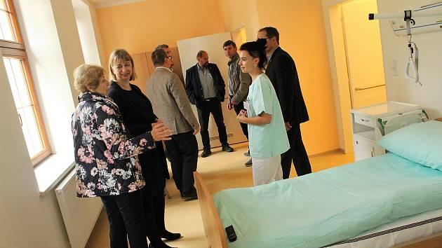 Léčebný ústav v Jevíčku má moderní oddělení