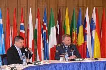 Náčelník generálního štábu Vlastimil Picek jednal v Moravské Třebové o budoucnosti vojenského školství.