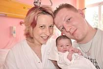 NIKOLA HANÁKOVÁ. Helena Nunvářová a Miroslav Hanák se stali v neděli 14. února rodiči malé Nikolky. Narodila se v Litomyšli ve 12.35 hodin. Bydlet bude ve Svitavách.