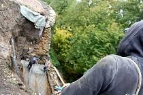 Obnova zřícených hradeb na hradě Svojanov vyjde téměř na 2 miliony korun.