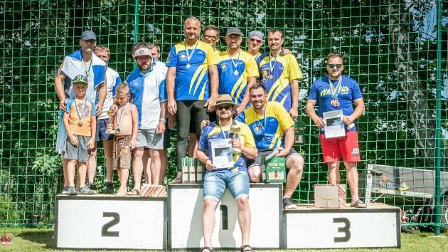 První závod ligy Svitavska.