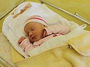 REBEKA ŠVÁBOVÁ, tak se jmenuje první dcera manželů Heleny a Martina z Litomyšle. Svět uviděla poprvé 10. dubna ve 21.05 hodin. Vážila 3,12 kilogramu a měřila půl metru.