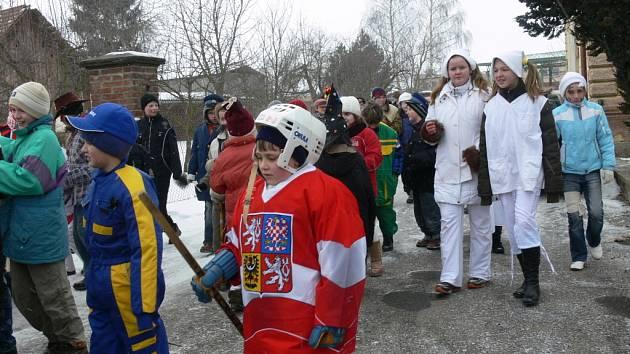 V Morašicích vypuklo masopustní veselí.